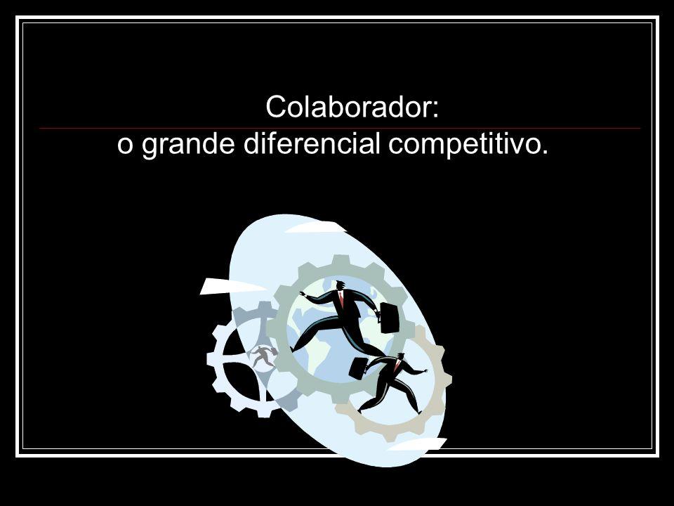 Colaborador: o grande diferencial competitivo.