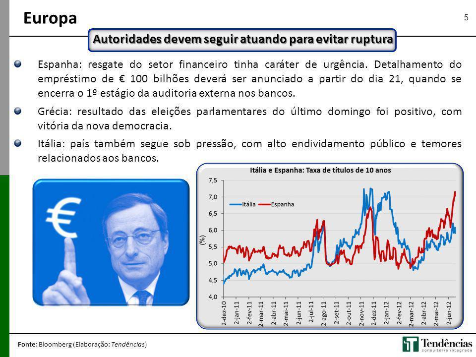 5 Espanha: resgate do setor financeiro tinha caráter de urgência. Detalhamento do empréstimo de 100 bilhões deverá ser anunciado a partir do dia 21, q