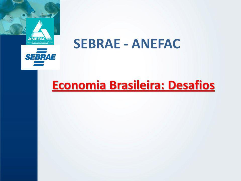 SEBRAE - ANEFAC Economia Brasileira: Desafios
