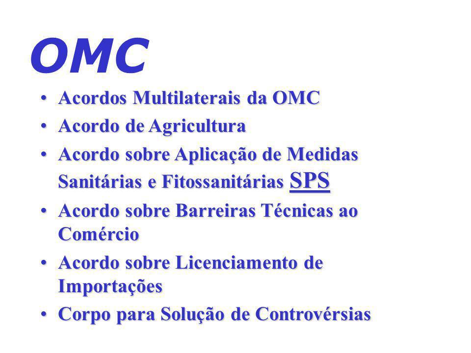 Mercosul – África do Sul Mercosul – Bolívia Mercosul – Índia Mercosul – Peru