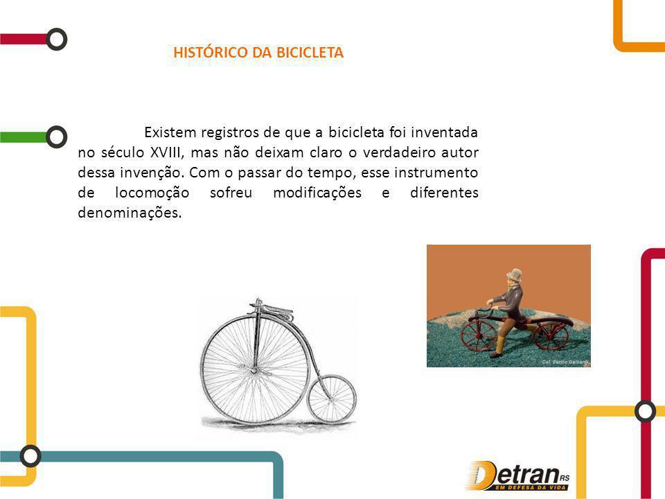 Existem registros de que a bicicleta foi inventada no século XVIII, mas não deixam claro o verdadeiro autor dessa invenção. Com o passar do tempo, ess