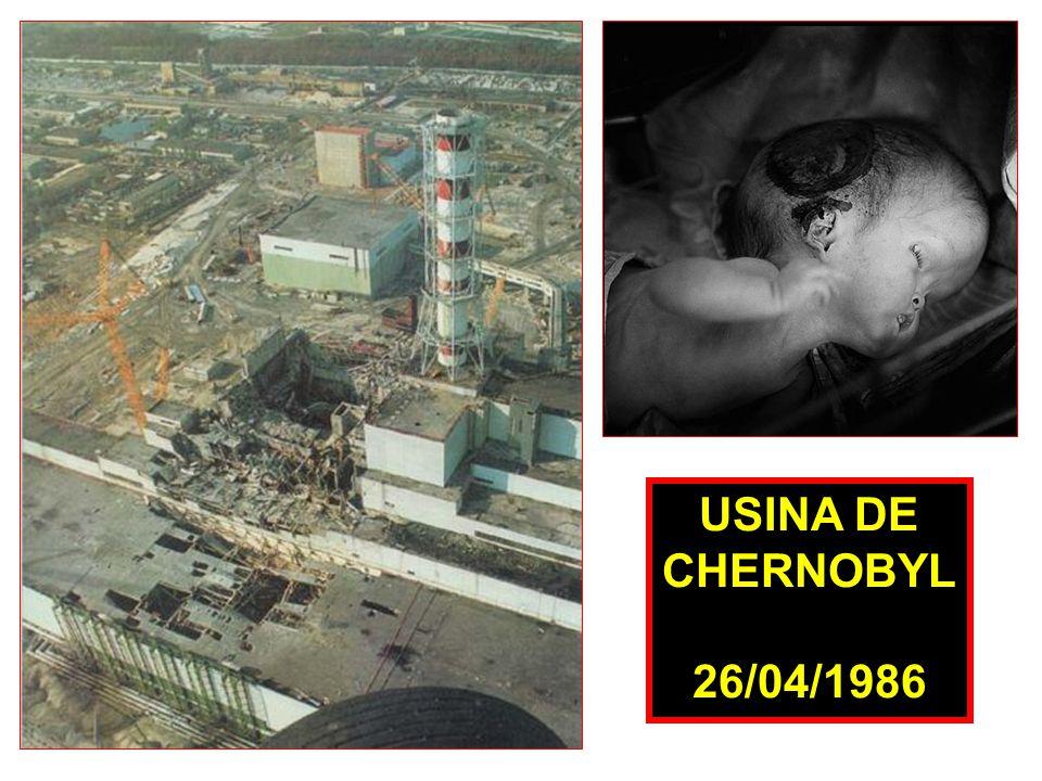 USINA DE CHERNOBYL 26/04/1986