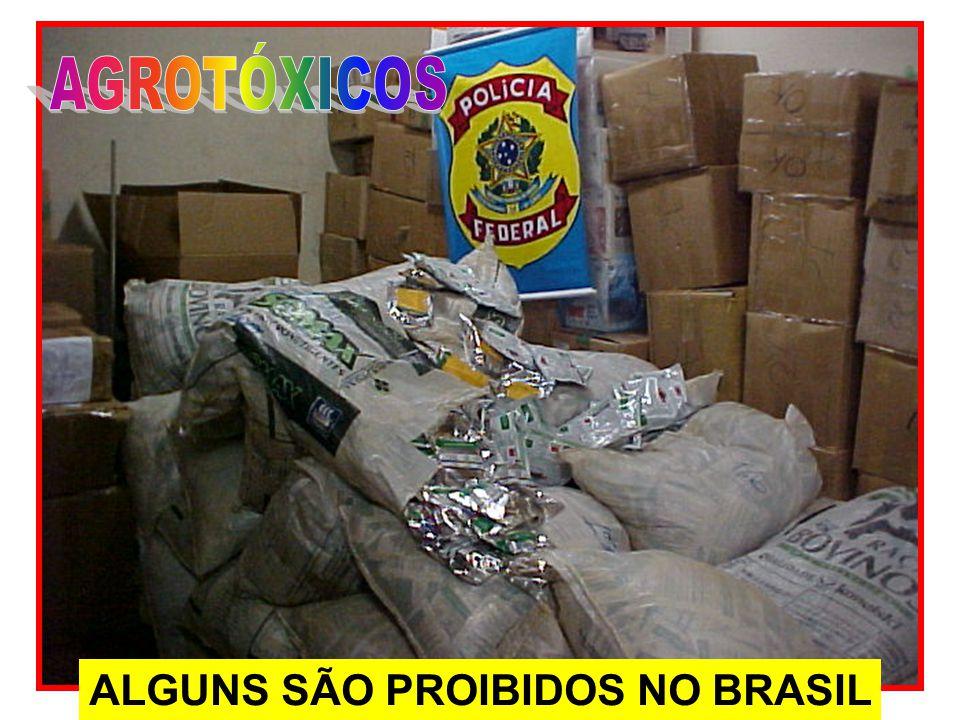 ALGUNS SÃO PROIBIDOS NO BRASIL
