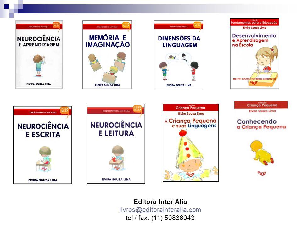 Editora Inter Alia livros@editorainteralia.com tel / fax: (11) 50836043 livros@editorainteralia.com