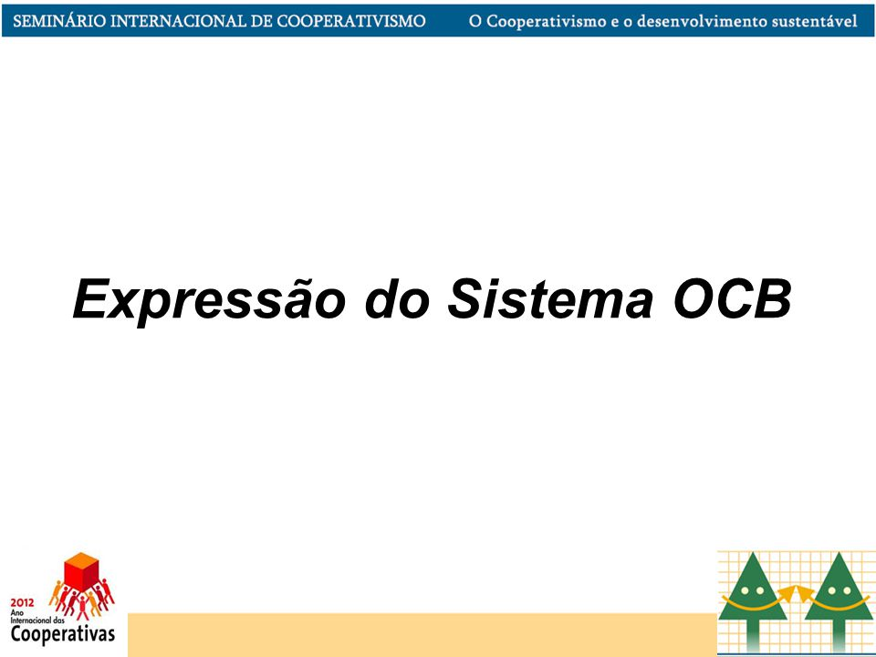 Expressão do Sistema OCB