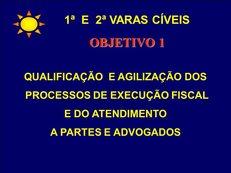PADRONIZAÇÃO DOS PROCEDIMENTOS (POP) E DOCUMENTOS UTILIZADOS PELAS VARAS CRIMINAIS 1ª E 2ª VARAS CRIMINAIS OBJETIVO 1