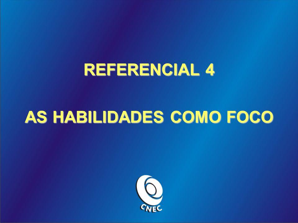 REFERENCIAL 4 AS HABILIDADES COMO FOCO