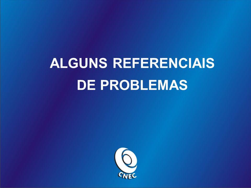 ALGUNS REFERENCIAIS DE PROBLEMAS
