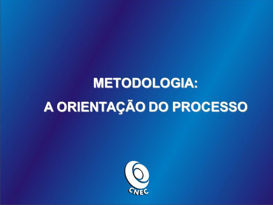 METODOLOGIA: A ORIENTAÇÃO DO PROCESSO