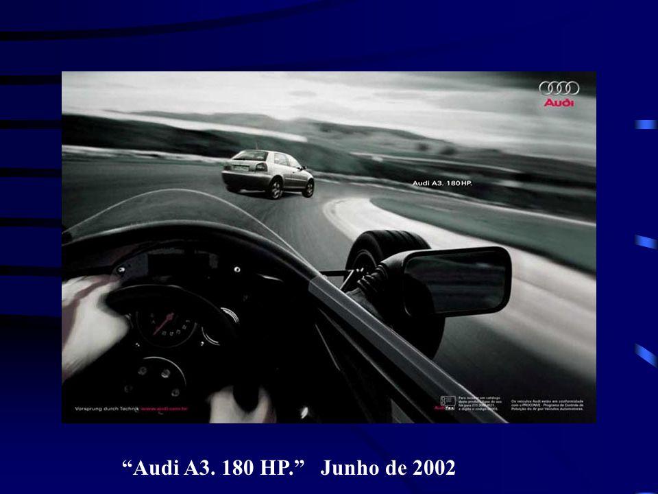Audi A3. 180 HP. Junho de 2002