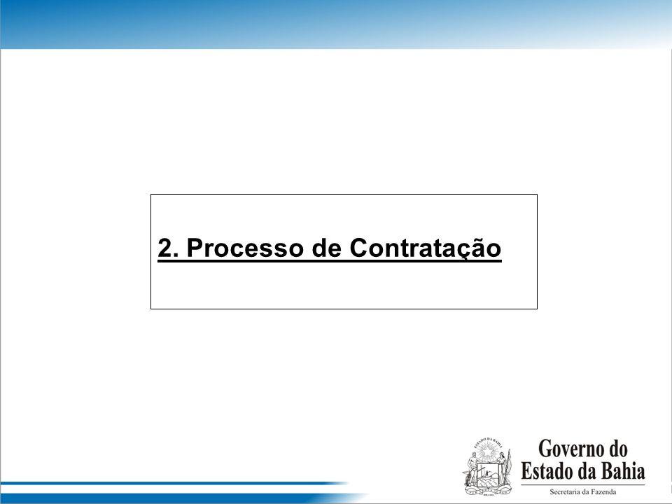 2. Processo de Contratação