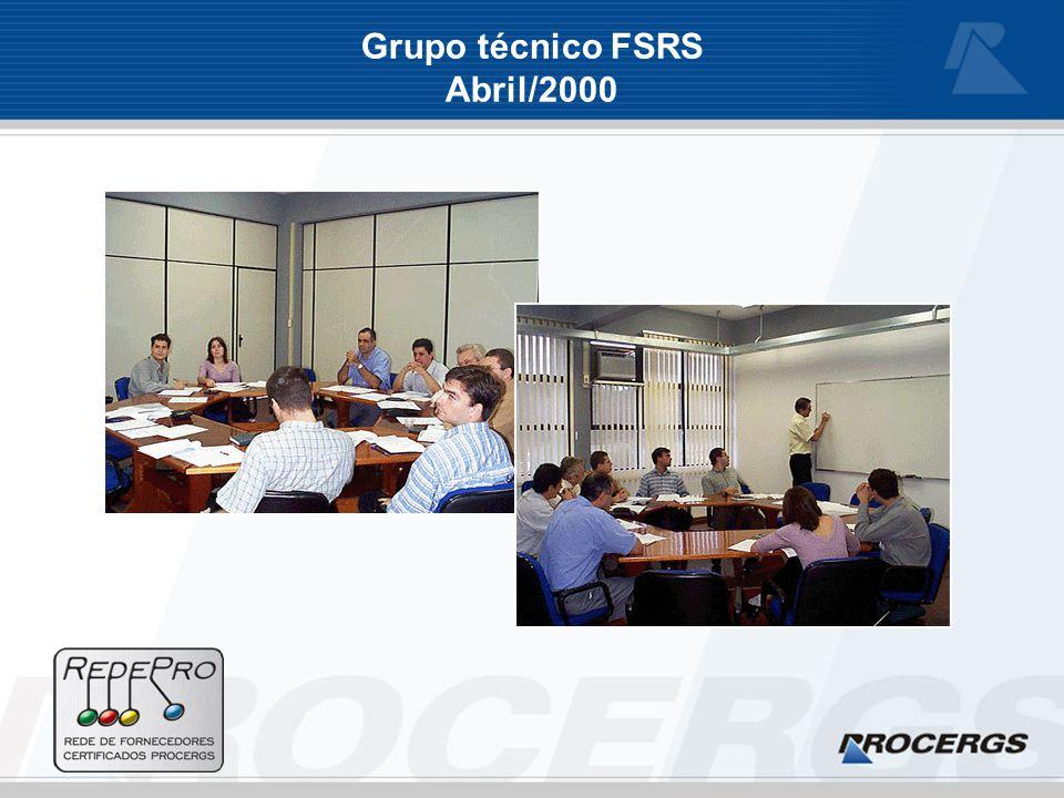 Grupo técnico FSRS Abril/2000