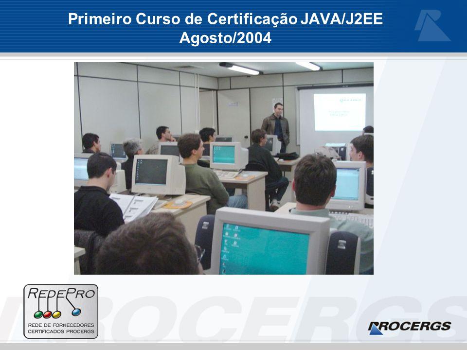 Primeiro Curso de Certificação JAVA/J2EE Agosto/2004