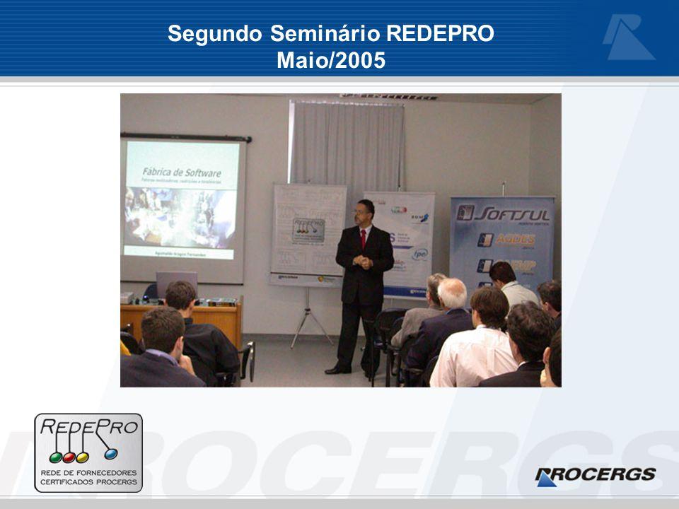 Segundo Seminário REDEPRO Maio/2005