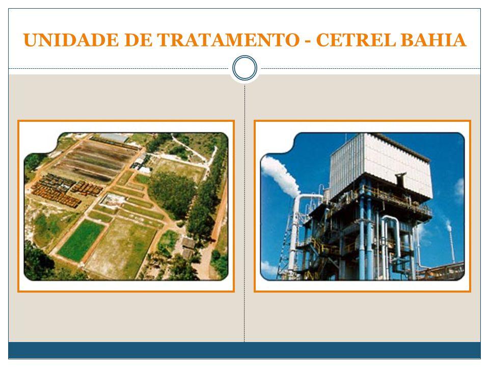UNIDADE DE TRATAMENTO - CETREL BAHIA