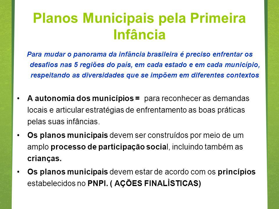 Para mudar o panorama da infância brasileira é preciso enfrentar os desafios nas 5 regiões do país, em cada estado e em cada município, respeitando as