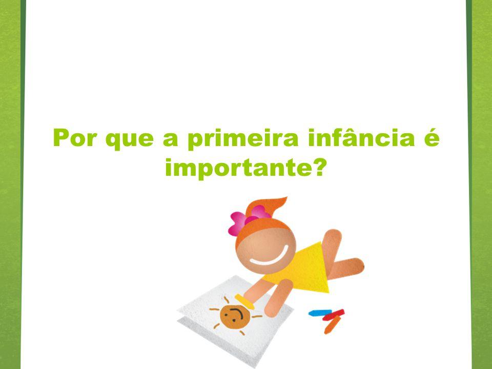 Por que a primeira infância é importante?
