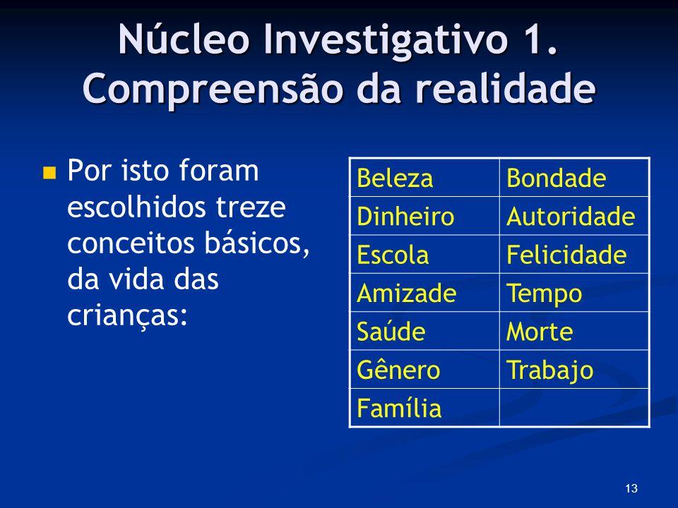 13 Núcleo Investigativo 1.
