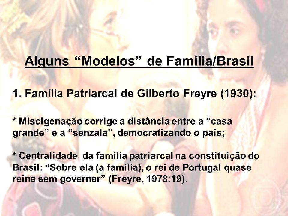 Alguns Modelos de Família/Brasil 1.