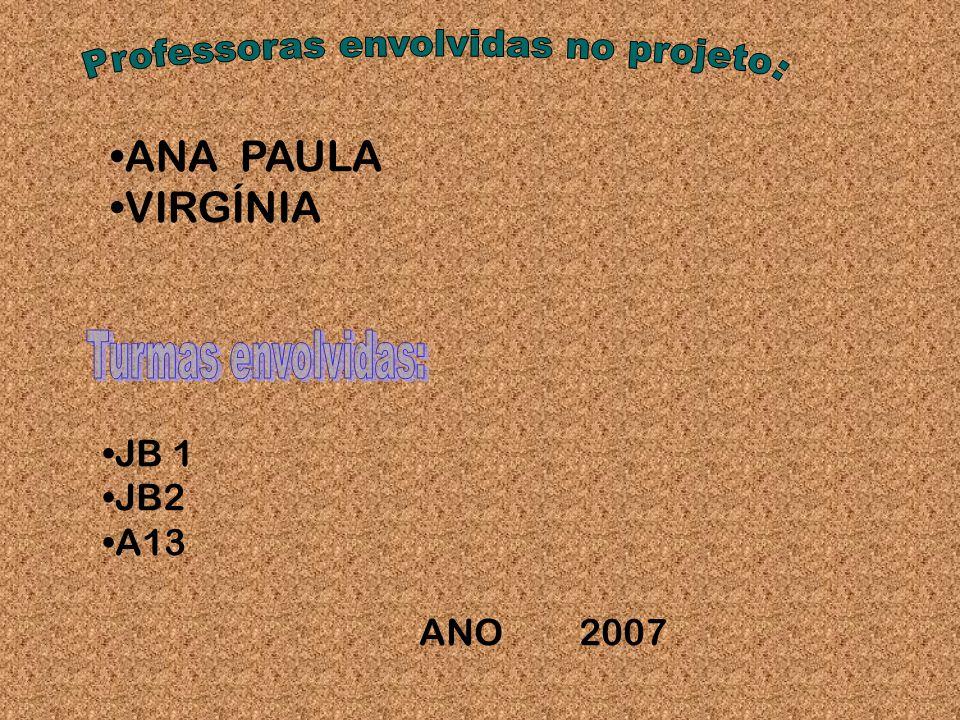 ANA PAULA VIRGÍNIA JB 1 JB2 A13 ANO 2007