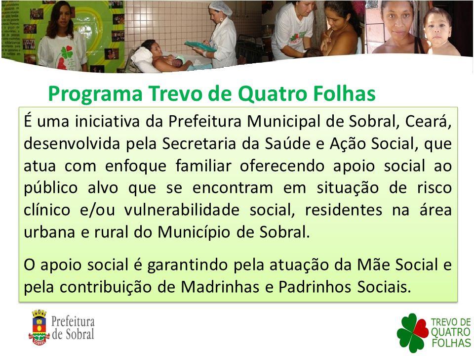 Programa Trevo de Quatro Folhas É uma iniciativa da Prefeitura Municipal de Sobral, Ceará, desenvolvida pela Secretaria da Saúde e Ação Social, que at