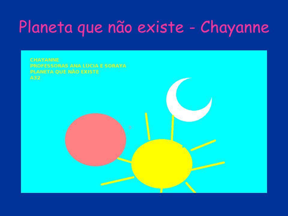 Planeta que não existe - Chayanne