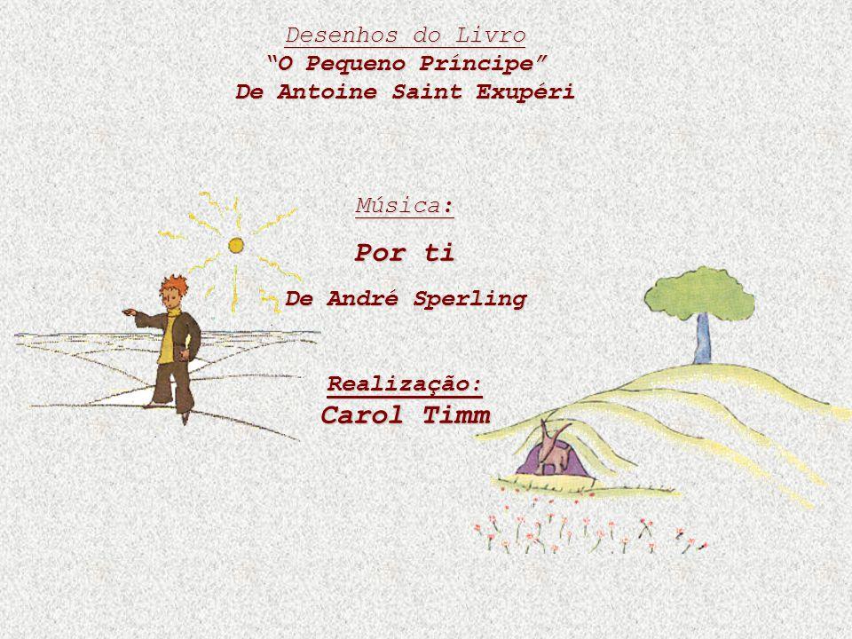 Desenhos do Livro O Pequeno Príncipe De Antoine Saint Exupéri Música: Por ti De André Sperling Realização: Carol Timm