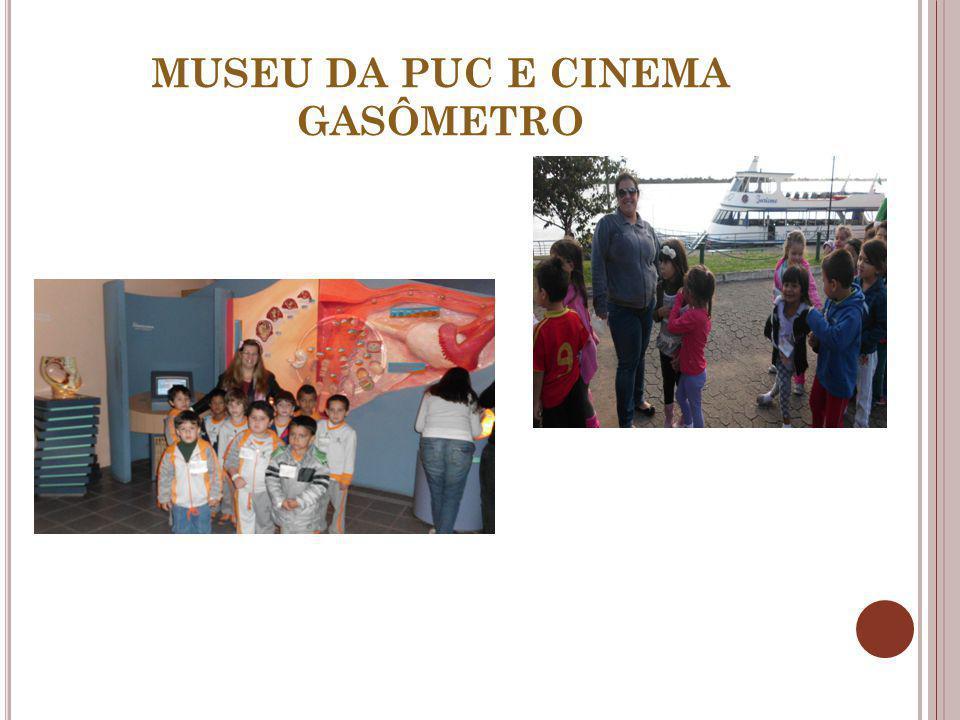 MUSEU DA PUC E CINEMA GASÔMETRO