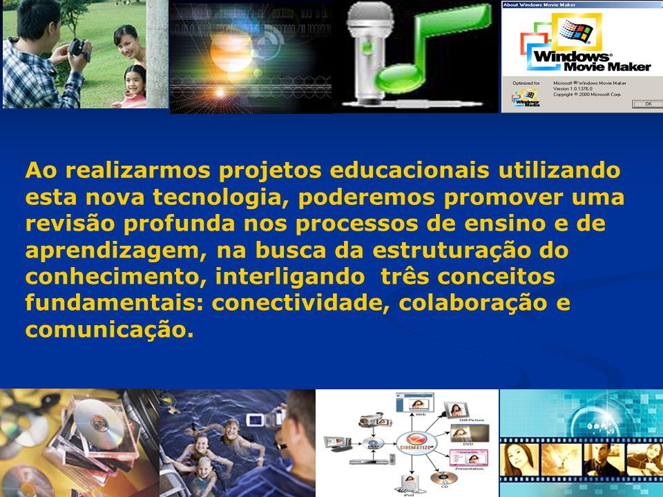 Ao realizarmos projetos educacionais utilizando esta nova tecnologia, poderemos promover uma revisão profunda nos processos de ensino e de aprendizage