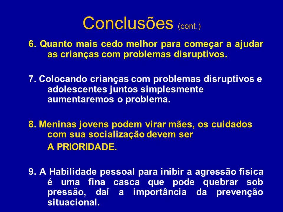 Conclusões (cont.) 6.