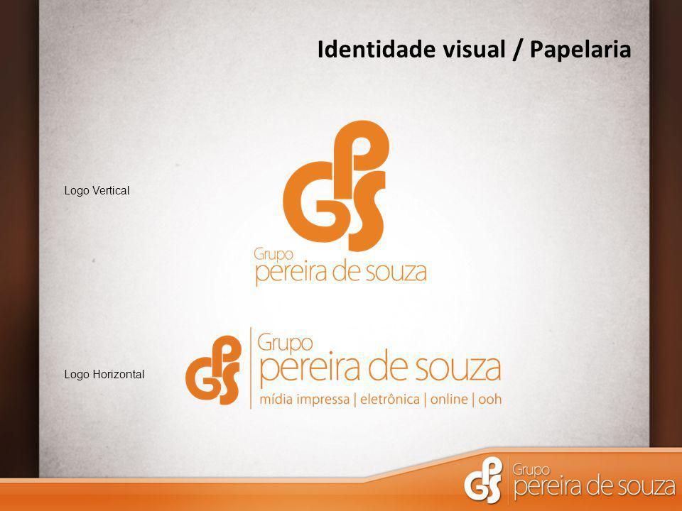 Identidade visual / Papelaria Logo Vertical Logo Horizontal