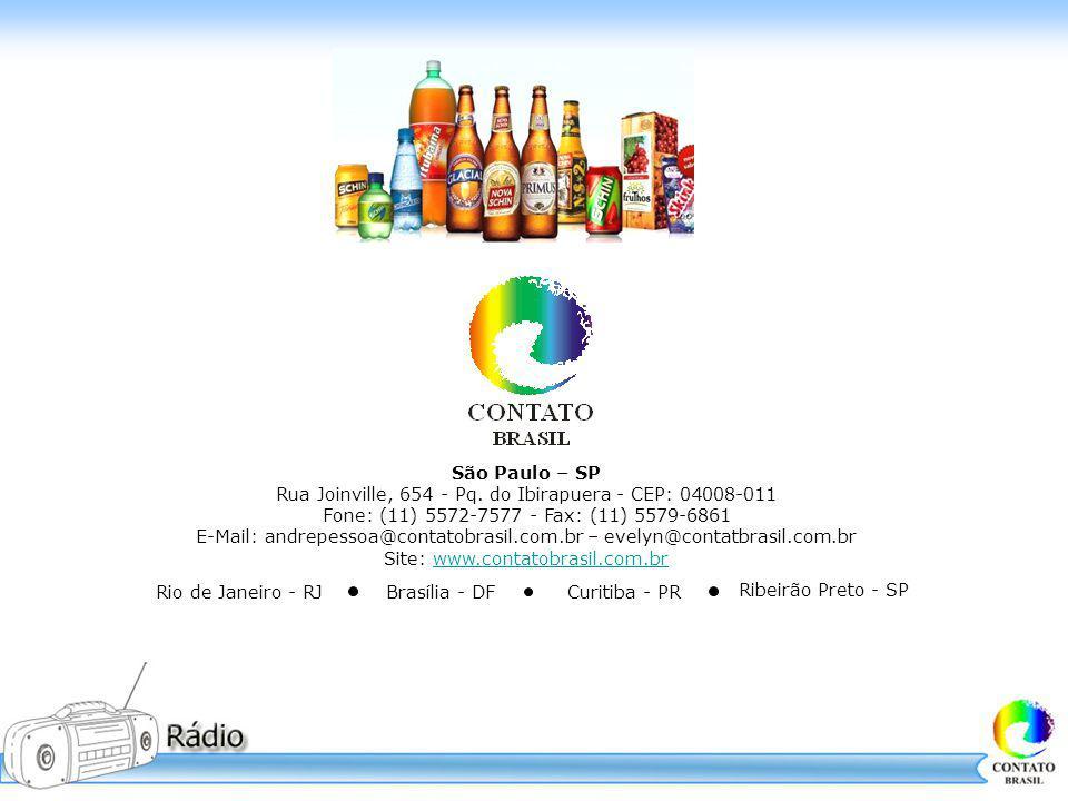 São Paulo – SP Rua Joinville, 654 - Pq. do Ibirapuera - CEP: 04008-011 Fone: (11) 5572-7577 - Fax: (11) 5579-6861 E-Mail: andrepessoa@contatobrasil.co