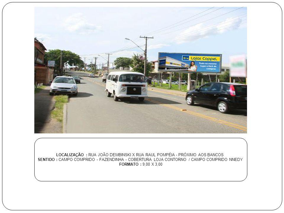 LOCALIZAÇÃO : RUA JOÃO SOARES BARCELOS - CENTRO COMERCIAL CARDEAL - RUA CEL.