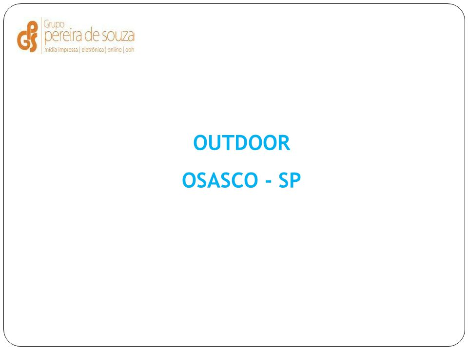 OUTDOOR OSASCO - SP