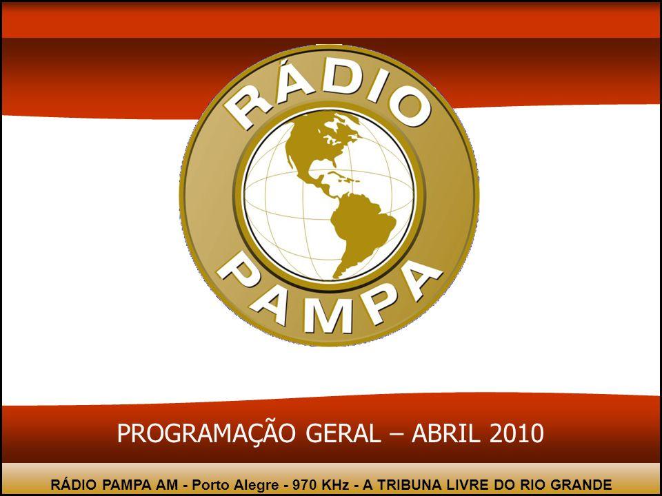 RÁDIO PAMPA AM - Porto Alegre - 970 KHz - A TRIBUNA LIVRE DO RIO GRANDE A Rádio Pampa AM 970 kHz leva aos seus ouvintes uma programação jornalística,