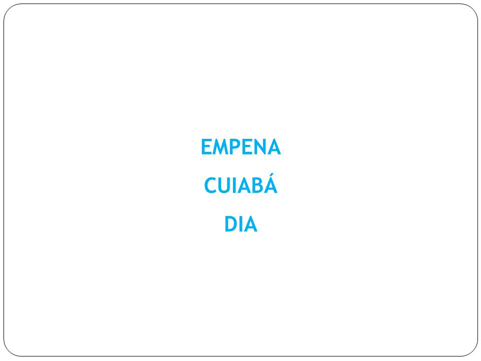 LOCALIZAÇÃO : AV.DA RUBENS DE MENDONÇA (CPA) SENTIDO : ED.