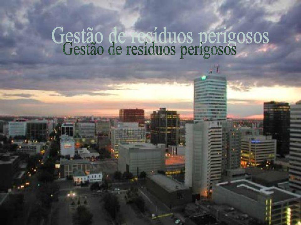 Introdução A gestão dos resíduos industriais perigosos (RIP) tem levantado grande discussão em Portugal.