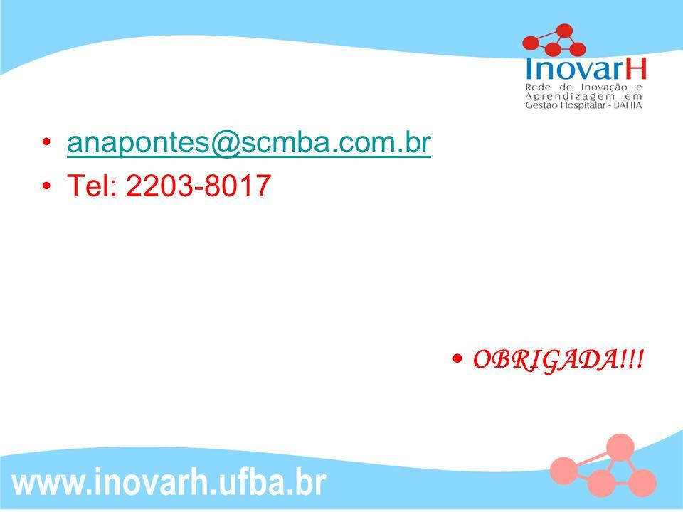 anapontes@scmba.com.br Tel: 2203-8017 OBRIGADA!!!