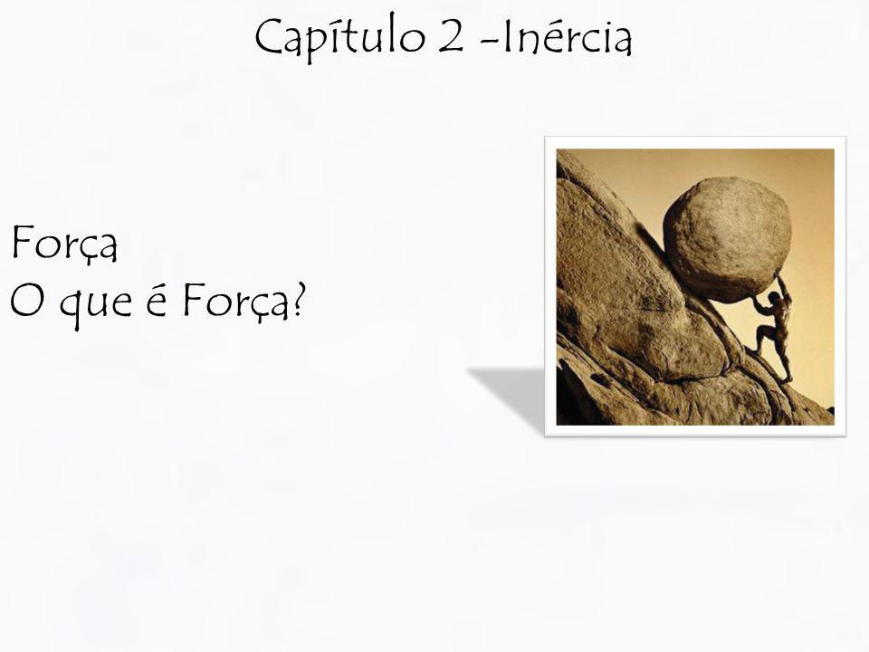 Capítulo 2 -Inércia Força O que é Força?