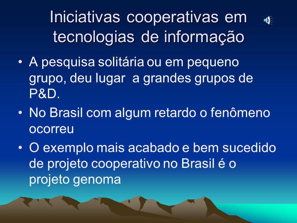 Capacidade instalada para pesquisa e desenvolvimento Nos países desenvolvidos a atividade de P&D é predominantemente realizada nas empresas. No Brasil