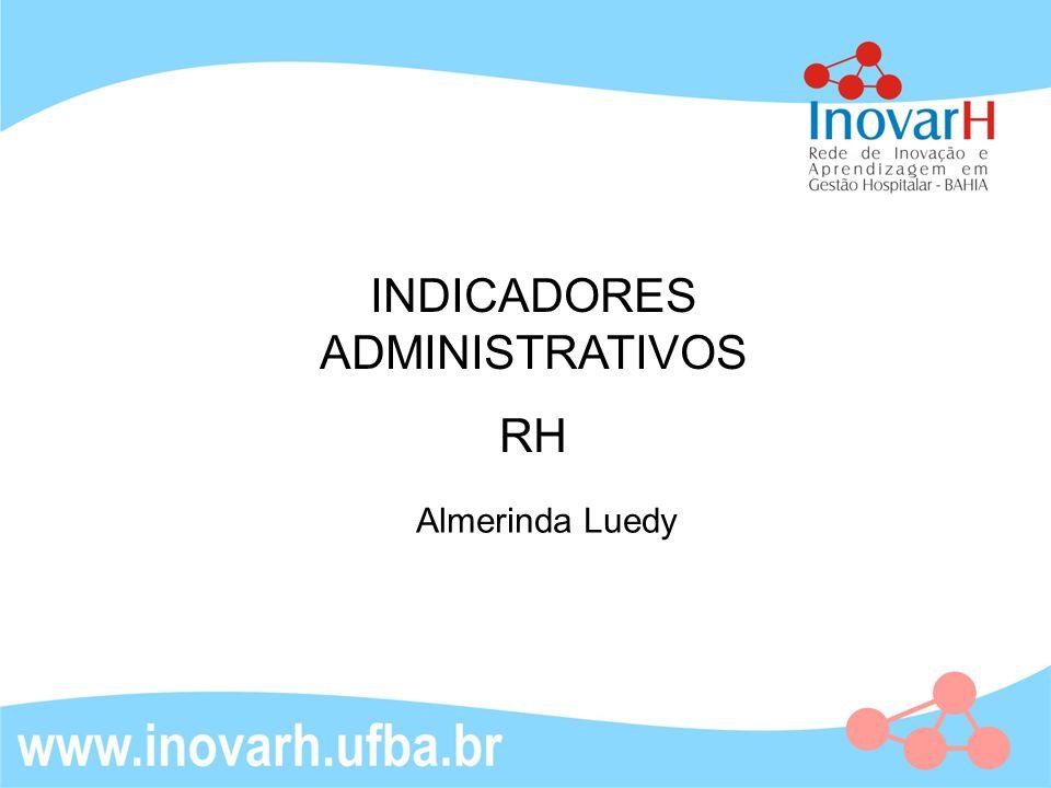 INDICADORES ADMINISTRATIVOS RH Almerinda Luedy