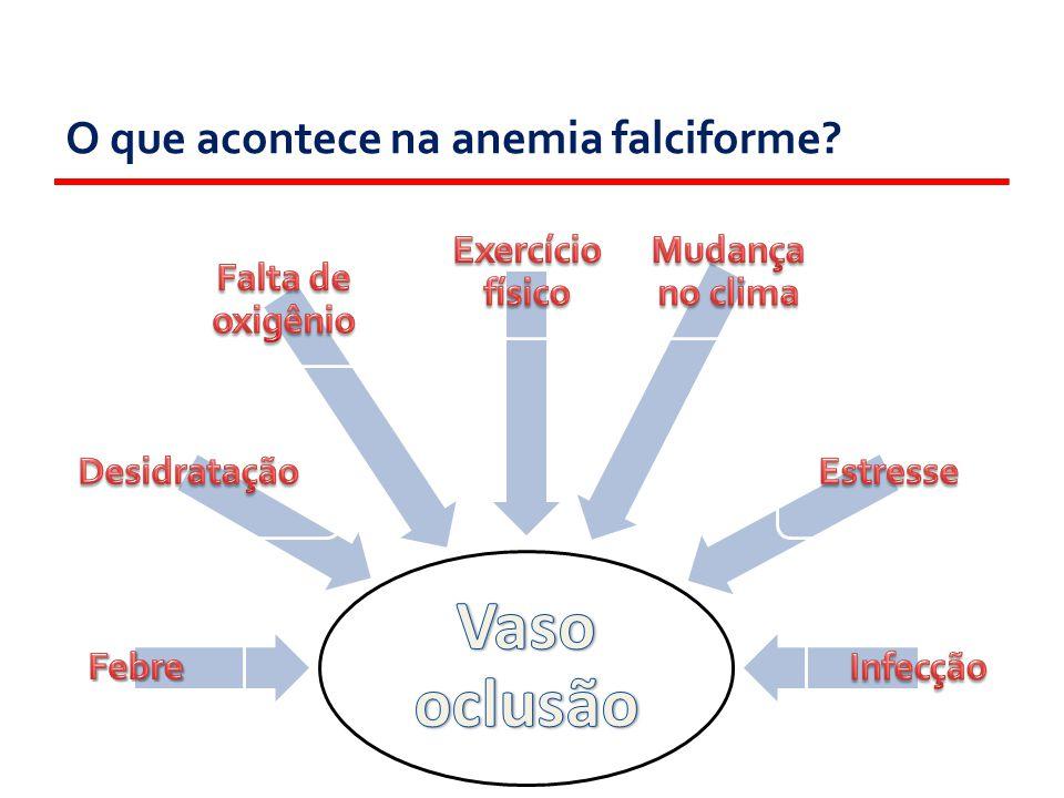 O que sente uma pessoa com anemia falciforme?