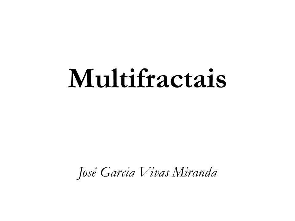 Multifractais José Garcia Vivas Miranda