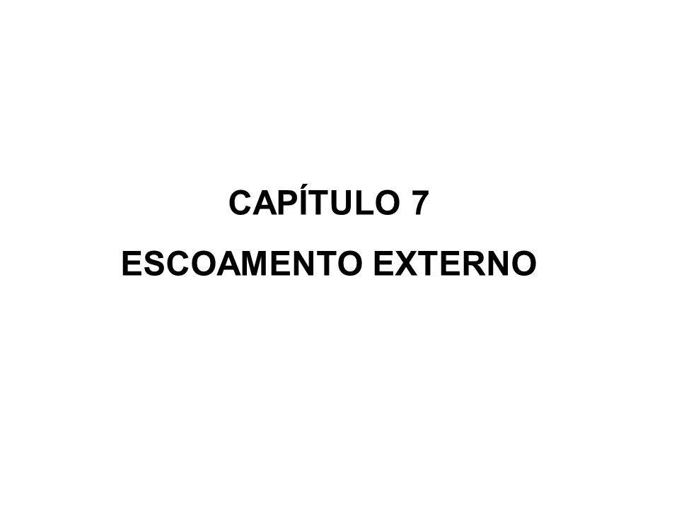CAPÍTULO 7 ESCOAMENTO EXTERNO