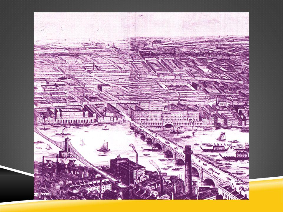 LONDRES EM 1850S Teoria do germe da doença não é amplamente aceita.