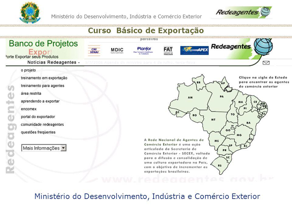 Ministério do Desenvolvimento, Indústria e Comércio Exterior Curso Básico de Exportação O que é contrato de câmbio.