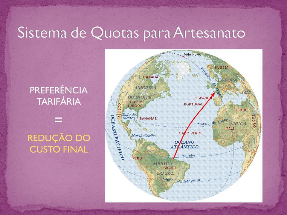PREFERÊNCIA TARIFÁRIA = REDUÇÃO DO CUSTO FINAL