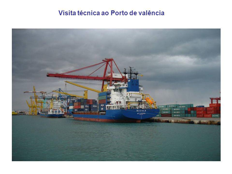 Visita técnica ao Porto de valência