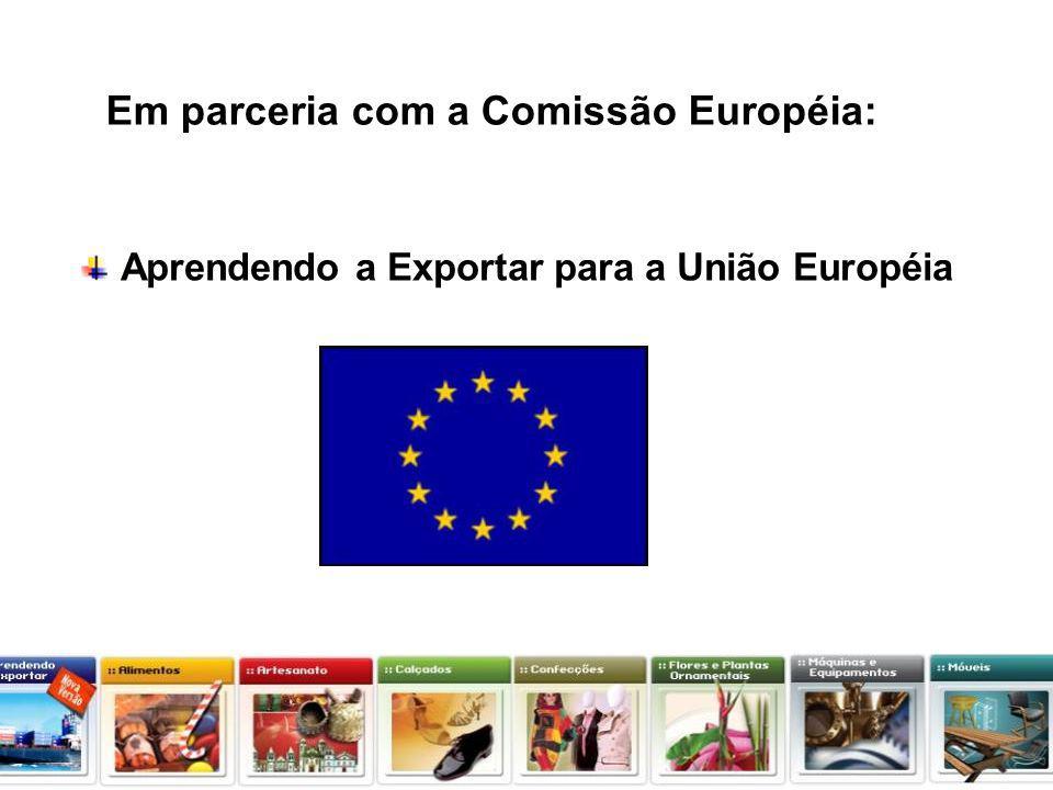 Projeto Apoio à inserção Internacional das PMEs Brasileiras-PAIIPME Europeaid/120707/C/SER/BR O que as empresas exportam para a união européia.