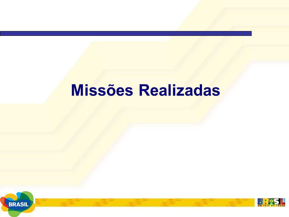 Missões Realizadas